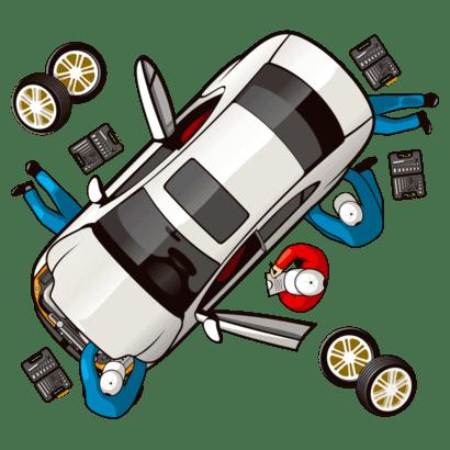 بنشر متنقل كراج تصليح سيارات